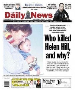 Who killed Helen Hill, and why?